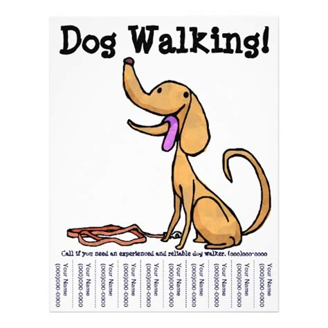 dog walking flyers google search dog walking