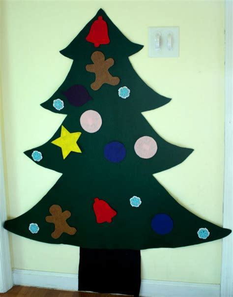 pattern for large felt christmas tree 18 creative felt christmas tree ideas guide patterns
