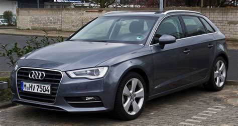 Audi A3 8v Sportback file audi a3 sportback 2 0 tdi ambiente 8v