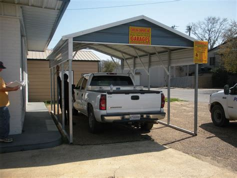Single Car Port by Single Carports One Car Carports 1 Car Carports