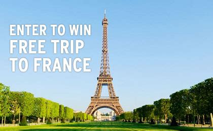 Free Trip Giveaways - expired enter to win free 9 day trip to france giveaway simple coupon deals