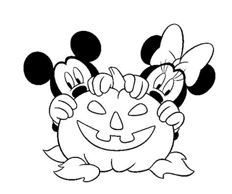 minnie mouse halloween coloring pages mickey and minnie disney halloween coloring page zelf