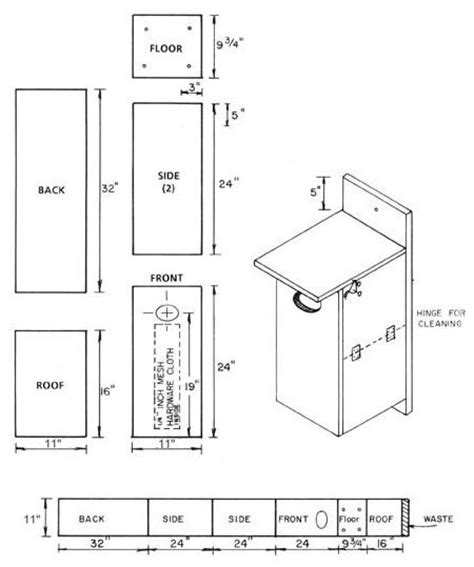 simple bird house plans birdhouse and nest box plans for several bird species