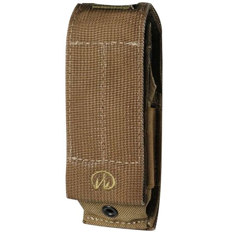 leatherman sheath leatherman mut series molle sheath brown pouches