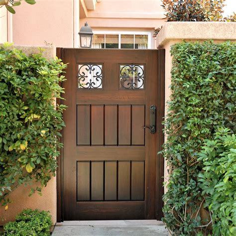 premium wood gates garden passages