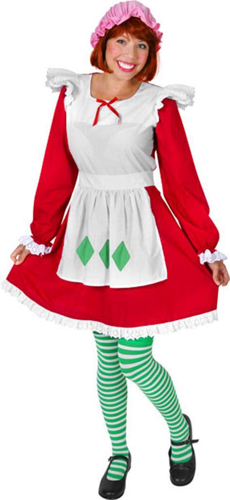 strawberry shortcake costumes  cartoon costumes