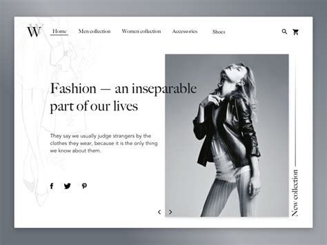7 Favorite Fashion Websites by Fashion Website Uplabs
