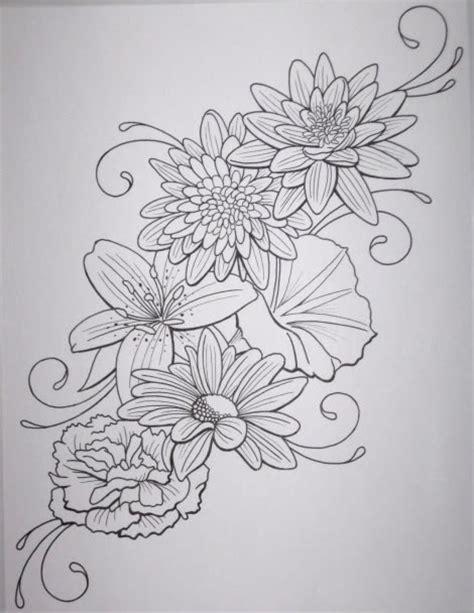 tattoo flower templates 35 flower tattoo design sles and ideas
