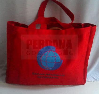 Tas Promosi Tas Seminar Spunbond Sablon 1 perdana goodie bag pembuatan tas promosi dan tas