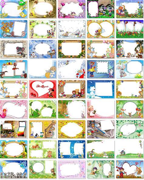 fotomontaje con caillou marcos y tarjetitas para fotomontajes infantiles para