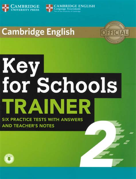 ket for schools trainer 1107613264 cambridge english key for schools ket s trainer 2 swiss exams online shop