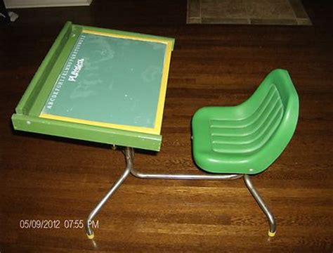 Playskool Desk by Vintage Playskool Desk Chalk Board And Magnetic Underside