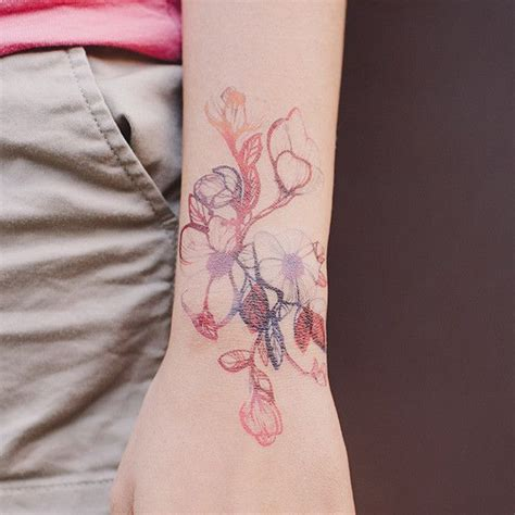 delicate wrist tattoo designs 1000 ideas about orchid on tattoos