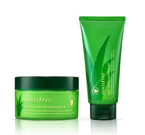 Innisfree Aloe review innisfree aloe revital sleeping pack and revital