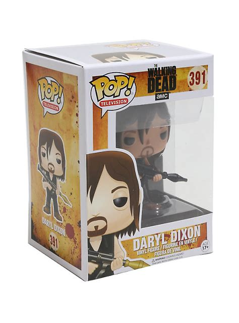 Funko Pop The Walking Daryl Dixon With Rocket Launcher Figure funko the walking dead pop television daryl dixon rocket