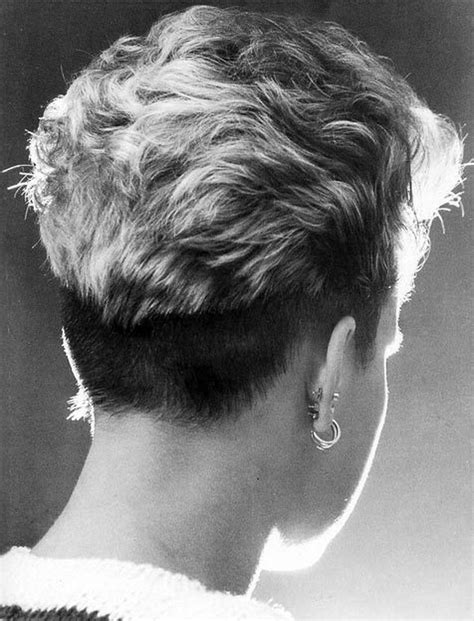 back view of womens short hairstyles with clippered back cool back view undercut pixie haircut hairstyle ideas 53
