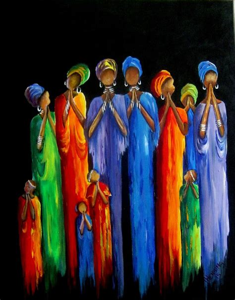 Selling Home Decor Online women s prayer meeting painting by marietjie henning