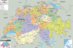 map of all cities large detailed political and administrative map of