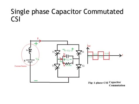 capacitor with current source capacitor commutated current source inverter 28 images lecture 28 360 chapter 9 power