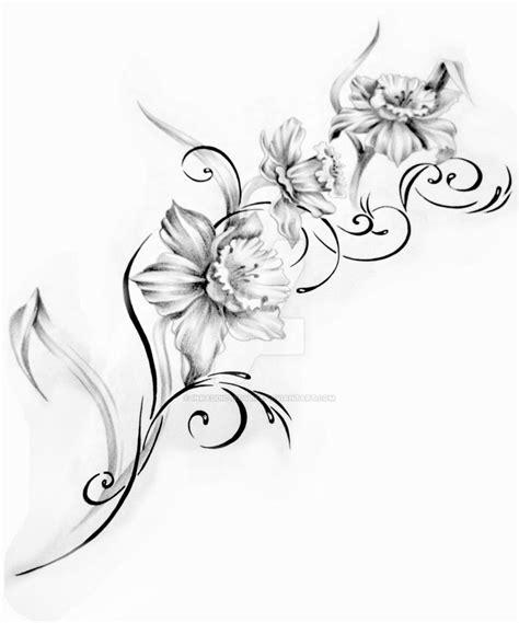 tattoo flower templates flower tattoo design 2 by inkaddicted4life on deviantart