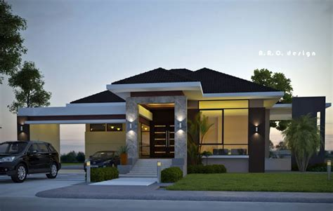 Narrow Lot 2 Story House Plans by Contemporary House Designs 2016 Rendition Bahay Ofw