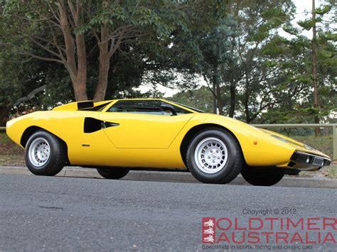 Lamborghini Countach Australia Lamborghini Countach Lp400 Oldtimer Australia Classic