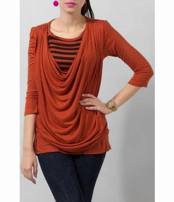 Blouse By Dinda Fashion and stylish summer wear tops for by yellow from 2014 15 trend hairstyles