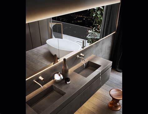 Modern Bathroom Furniture by Puro 101 Contemporary Italian Bathroom Furniture In Medea