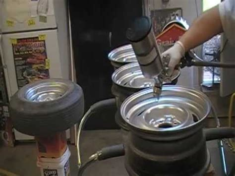 15 x 7 chevy rally wheel wheel resto dupli color paint shop brillant silver 3rd coat