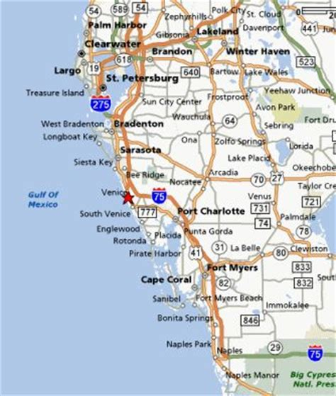 florida west coast map the beaches in venice are beautiful venice florida and surrounding area west