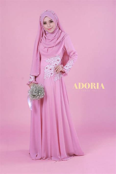 baju pengantin tunang nikah resepsi perkahwinan peach pink color baju pengantin newhairstylesformen2014 com