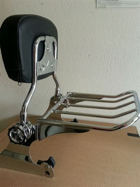 Harley Davidson Softail Luggage Rack by Backrest Sissy Bar Luggage Rack Harley Davidson