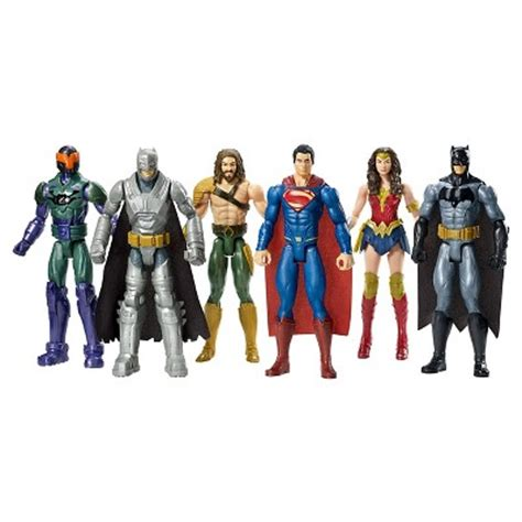 Patio Furniture by Batman V Superman Dawn Of Justice 12 Inch Figure 6 Pack