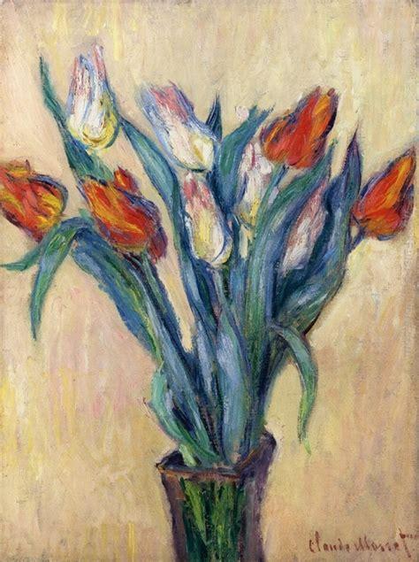 vaso di tulipani vaso di tulipani di claude monet in vendita
