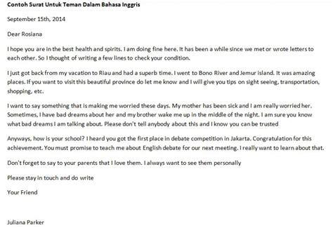 surat pribadi untuk sahabat contoh surat newhairstylesformen2014