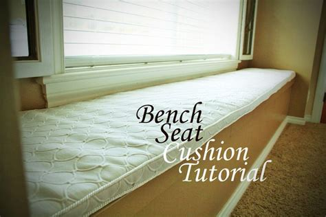 bench cushion tutorial diy bench seat cushion tutorial tip junkie