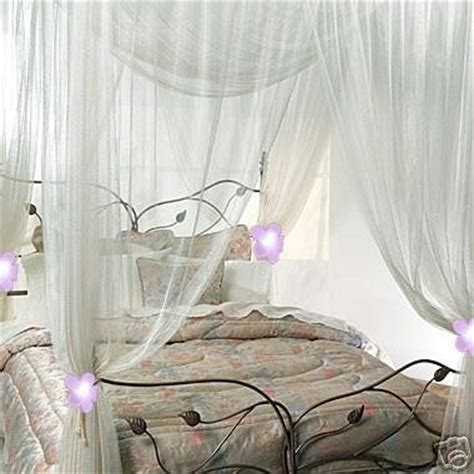 sheer curtains for canopy bed cheap nicamaka casablanca bed canopy white for sale