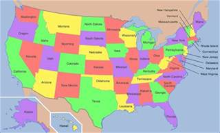 Map Oof Usa by Geoawesomequiz Capital Cities Of The Us States