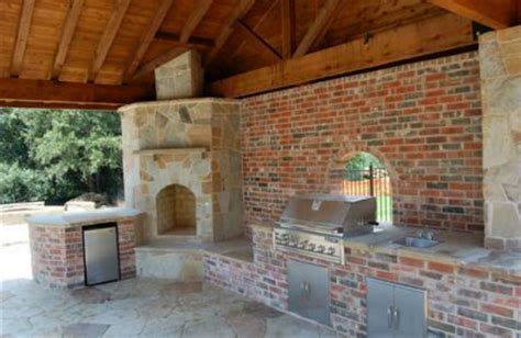 houston outdoor fireplace project fireplaces houston