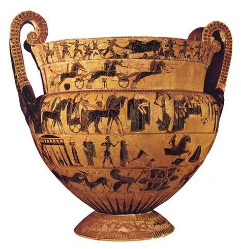 vaso di francois storia dell arte vaso fran 231 ois 570 a c pittore kleitias