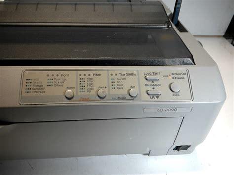 Printer Lq2090 epson lq 2090 dot matrix printer p364u