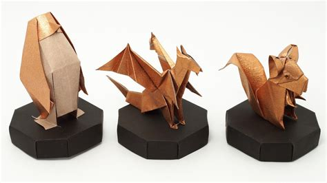 Origami Picture Stand - origami stand jo nakashima