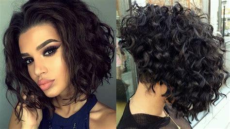 peinado para pelo corto y rizado pelo chino corto corte de pelo bob rizado corte de pelo
