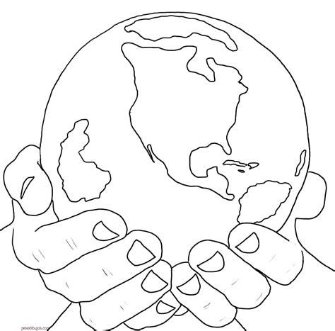 imagenes faciles para dibujar de la naturaleza dibujos de la tierra para colorear