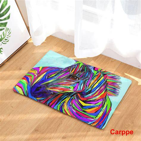 Karpet Lembut Anti Slip 40 X 60 Cm welcome floor mat printing bedroom entrance carpets 40x60cm 50x80cm kitchen rug non slip