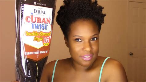 how to soften cuban twist hair natural hair freetress equal cuban twist hair show n