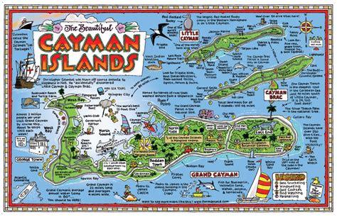 grand cayman map maps usa
