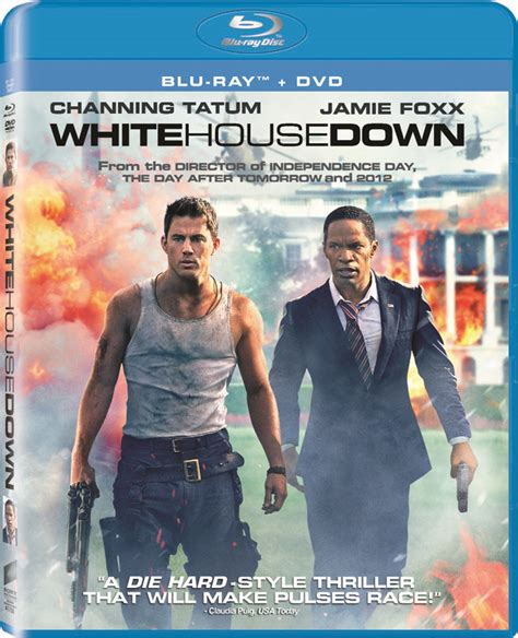 white house down full movie channing tatum s white house down hits blu ray dvd