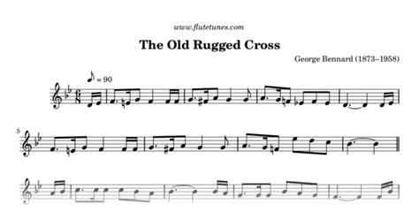 the rugged cross sheet violin the rugged cross g bennard free flute sheet