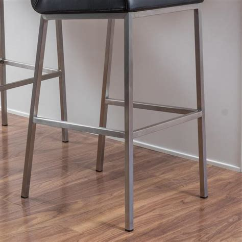 denise austin home october bonded leather barstool set of denise austin home october bonded leather barstool set of